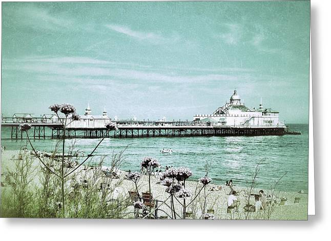 In Days Gone By Greeting Card by Connie Handscomb