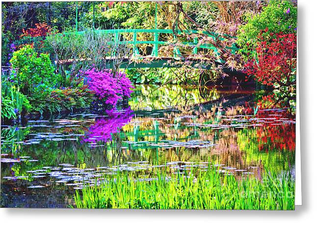 In Giverny Greeting Card