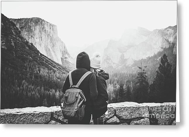 Yosemite Love Greeting Card by JR Photography