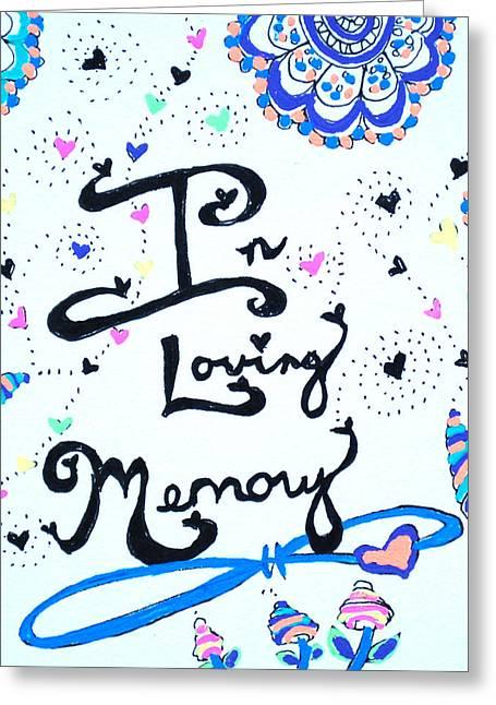 In Loving Memory Greeting Card