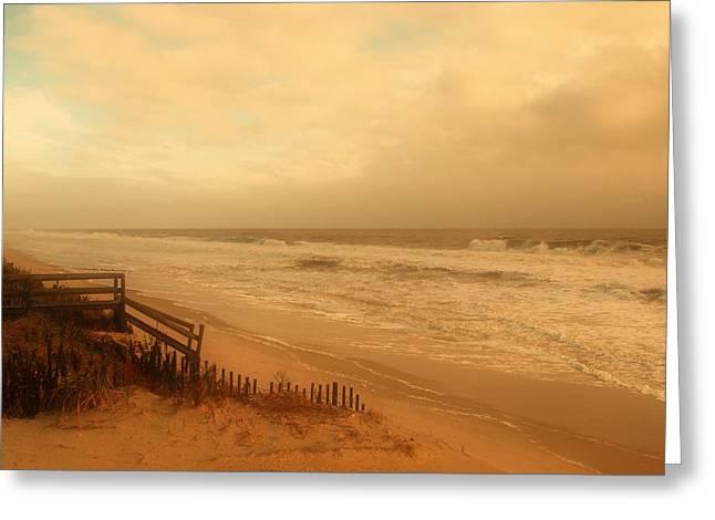 In My Dreams The Ocean Sings - Jersey Shore Greeting Card