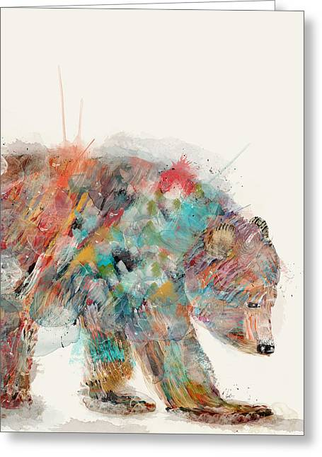 In Nature Bear Greeting Card