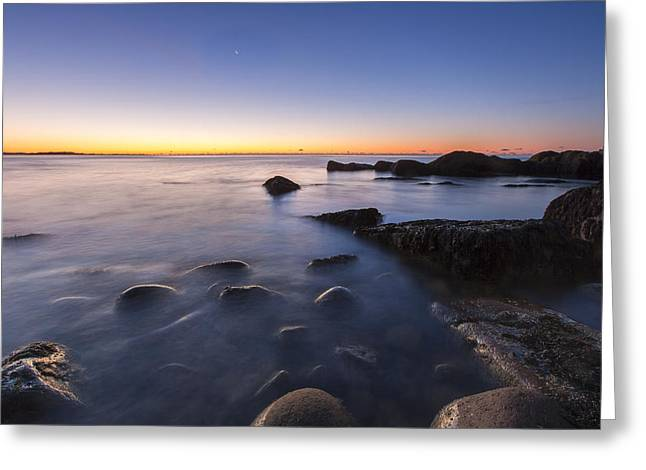 In Preparation For The Day Greeting Card by Jon Glaser