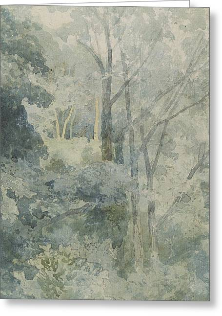 In Rokeby Park Greeting Card by John Sell Cotman