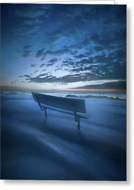 In Silence And Solitude Greeting Card