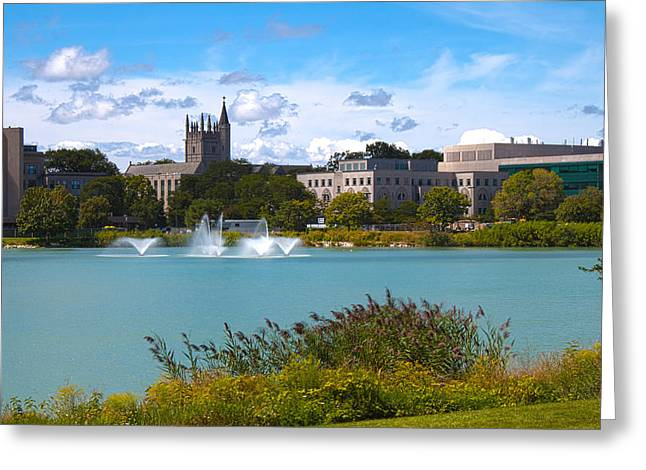 University Park Greeting Cards - In the Afternoon Greeting Card by Milena Ilieva