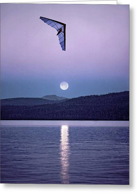 In The Air Tonight Greeting Card
