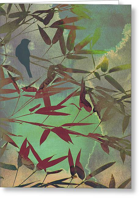In The Bamboo Forest Greeting Card