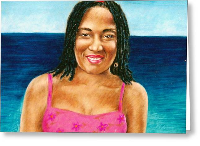 In The Caribbean Greeting Card