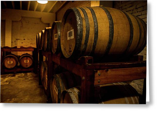In The Cellar Greeting Card by Jon Glaser