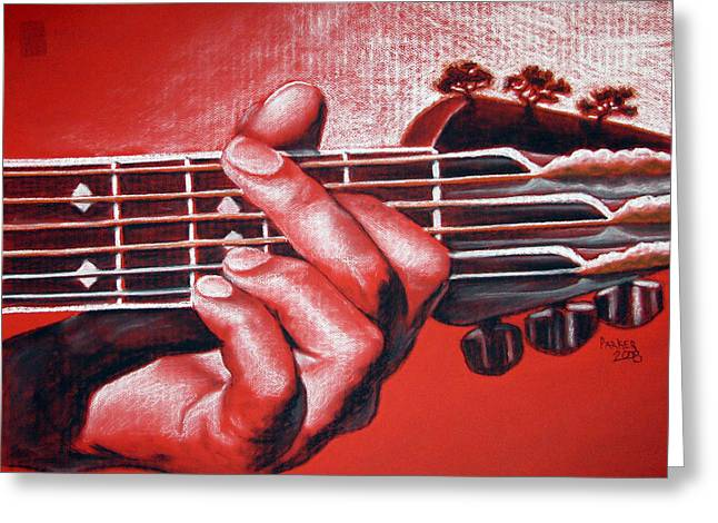 In The Chord Of G Greeting Card by Patrick Parker