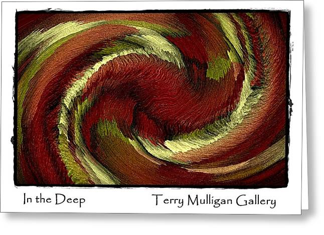 In The Deep Greeting Card by Terry Mulligan
