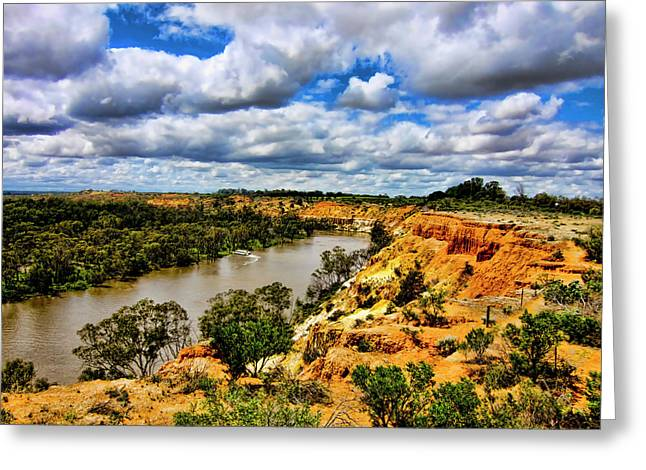 Spectacular Greeting Cards - In the Distance Greeting Card by Douglas Barnard