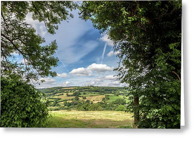 In The English Cotswolds Greeting Card