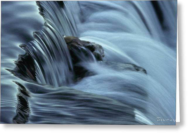 In The Flow Greeting Card