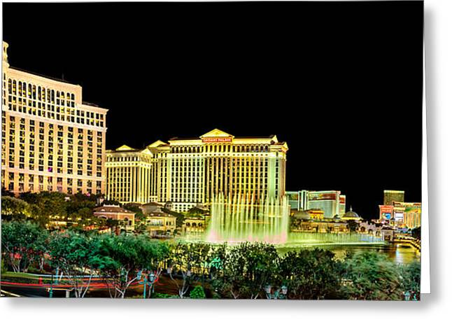 In The Heart Of Vegas Greeting Card