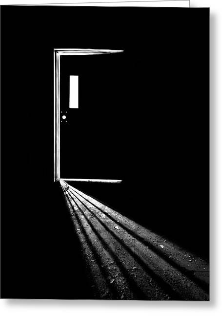 In The Light Of Darkness Greeting Card by Evelina Kremsdorf
