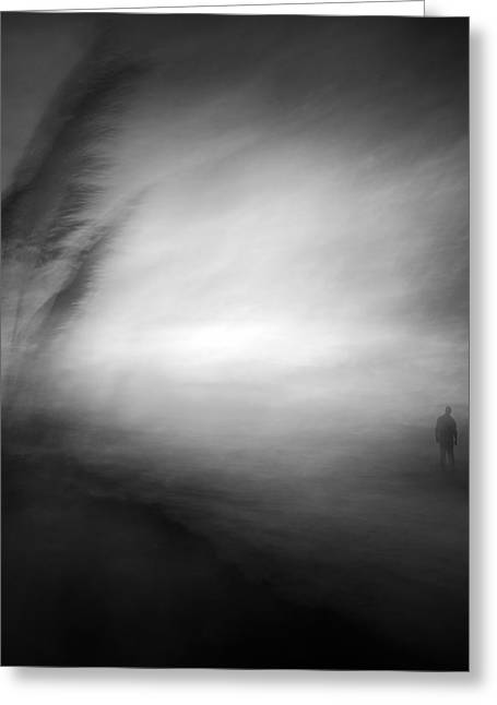 In The Middle Of Nowhere Greeting Card by Santiago Pascual Buye