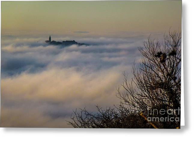 In The Mist 1 Greeting Card
