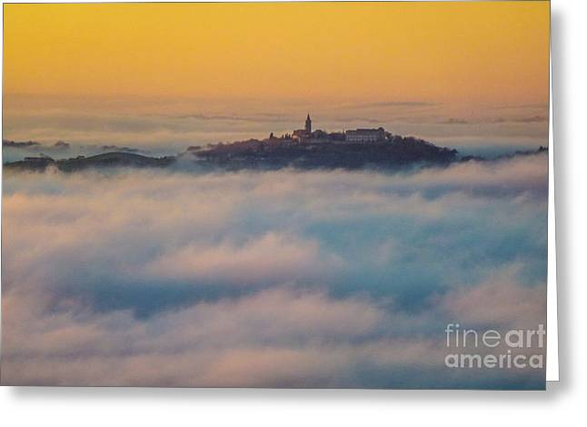 In The Mist 3 Greeting Card