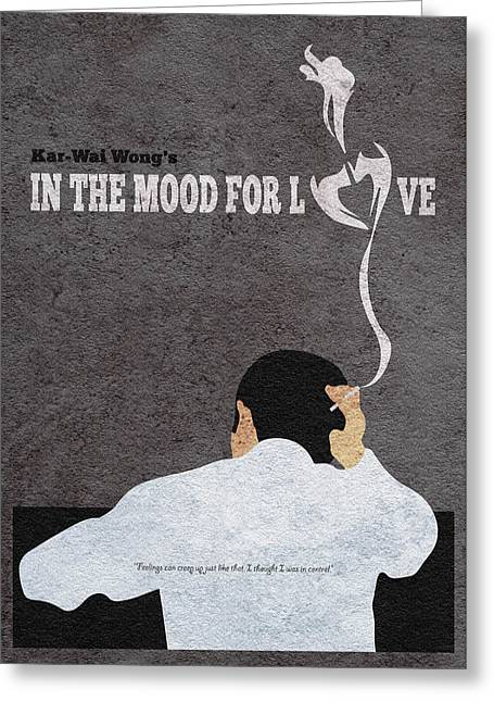 In The Mood For Love Minimalist Alternative Movie Poster Greeting Card