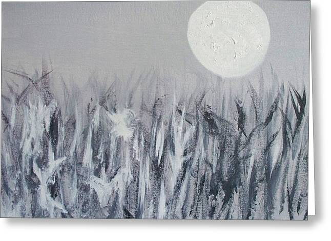 In The Moonlight Greeting Card