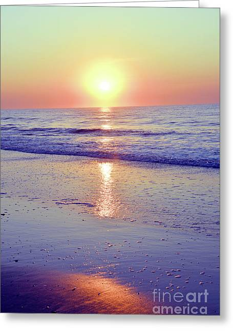 In The Morning Light Everything Is Alright Greeting Card