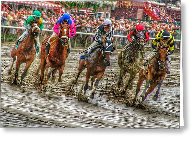 In The Mud Greeting Card