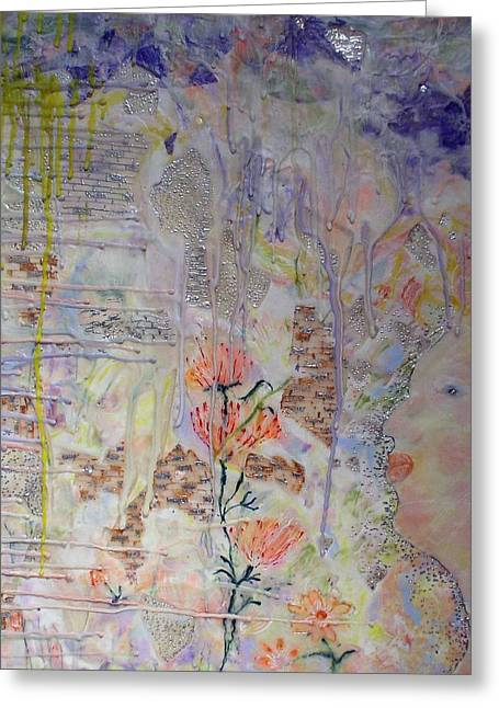 In The Now Greeting Card by Heather Hennick