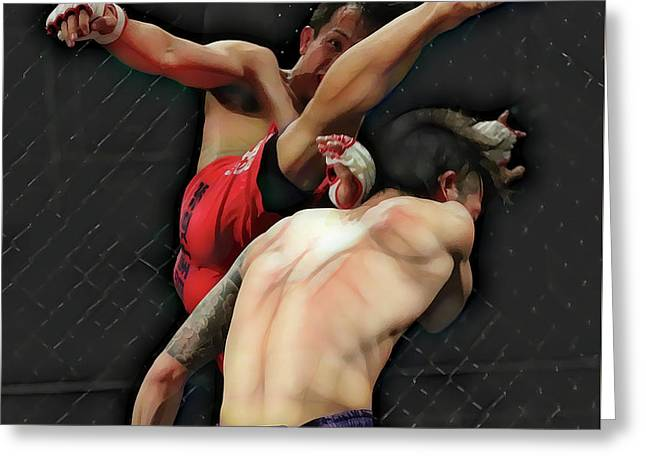 In The Octagon Greeting Card