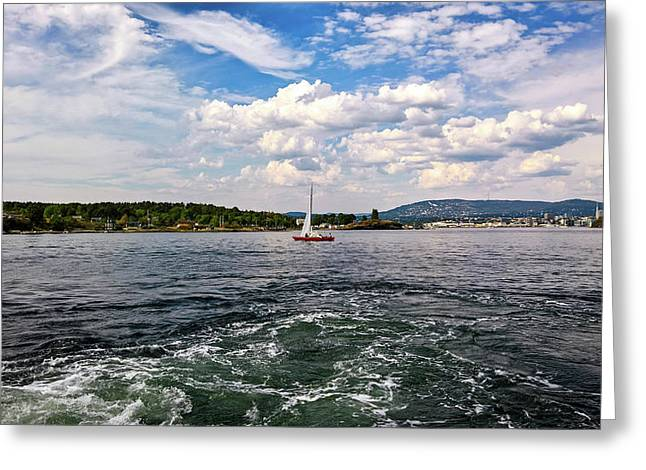 In The Oslo Fjord Greeting Card