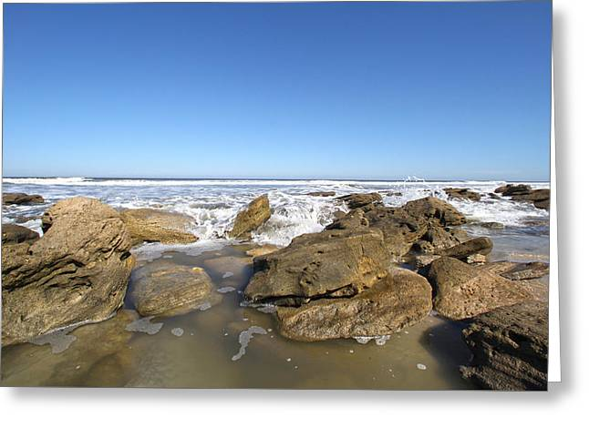 In The Rocks Greeting Card