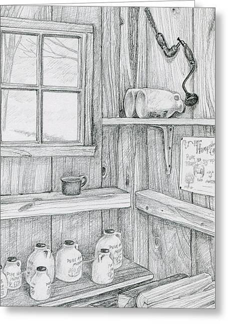 In The Sugar House Greeting Card