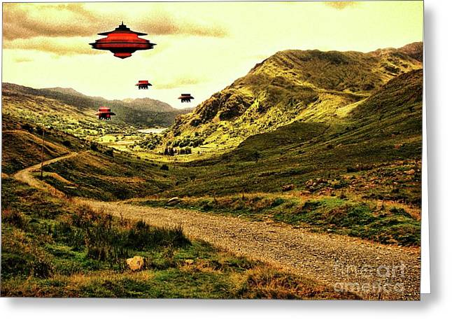 In The Valley By Raphael Terra Greeting Card