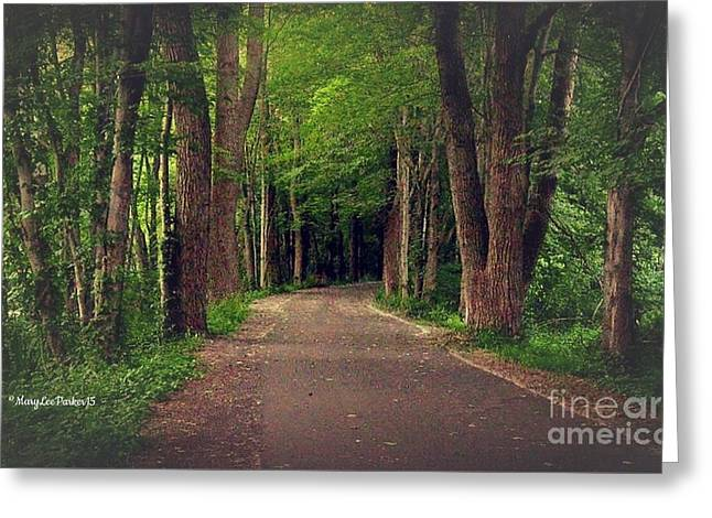In To The   Deep Dark Woods  Greeting Card