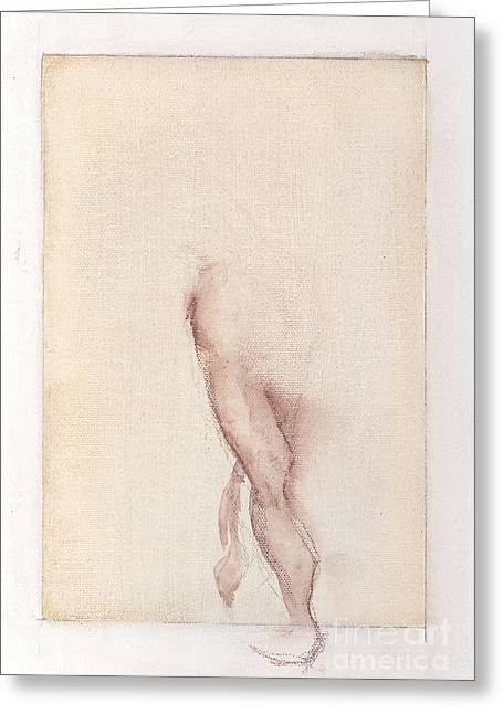 Incognito - Female Nude Greeting Card