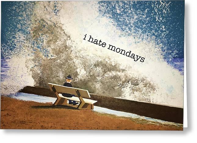 Incoming - Mondays Greeting Card