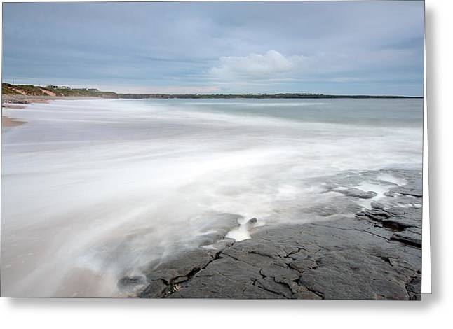 Incoming Tide Greeting Card by Ann O Connell