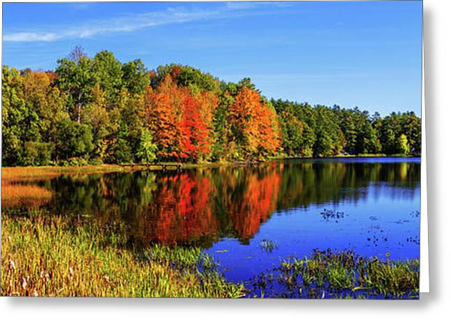 Incredible Pano Greeting Card by Chad Dutson