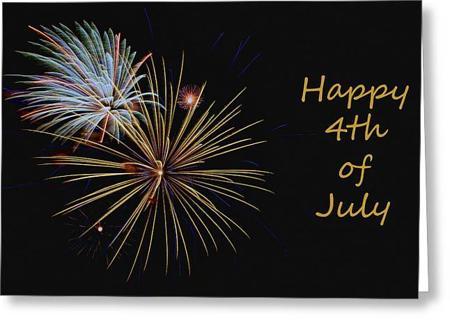 Independence Day - Fireworks Greeting Card