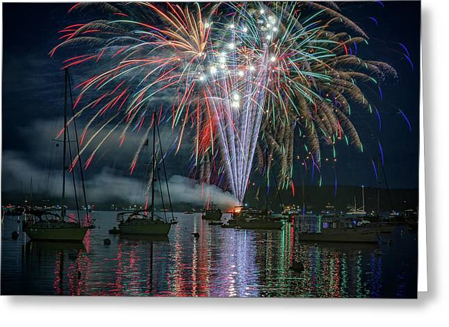 Independence Day In Maine Greeting Card