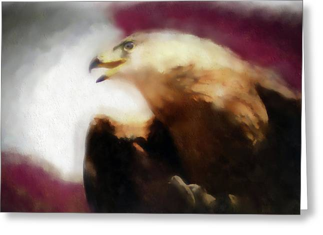 Independence Eagle Greeting Card