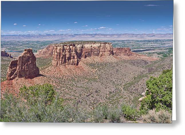 Independence Pano Greeting Card