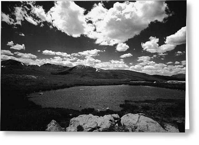 Independence Pass Colorado Greeting Card by Susan Chandler