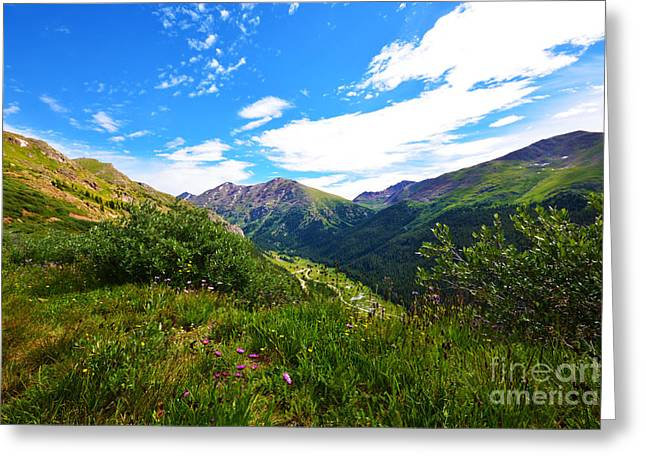 Independence Pass Greeting Card