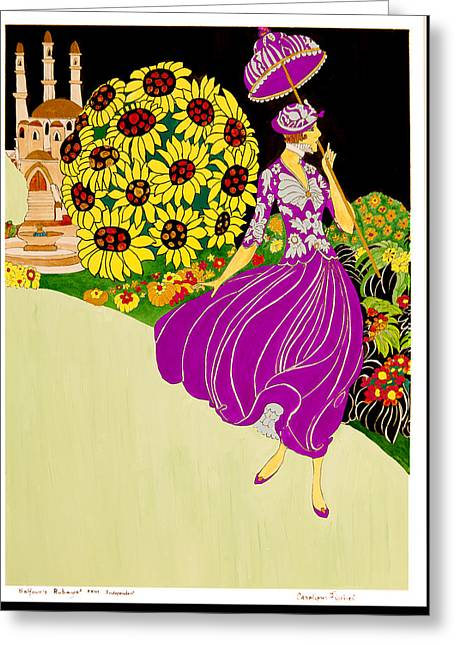 Independent Greeting Card by Carolynn Fischel