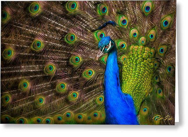 Greeting Card featuring the photograph India Blue by Rikk Flohr