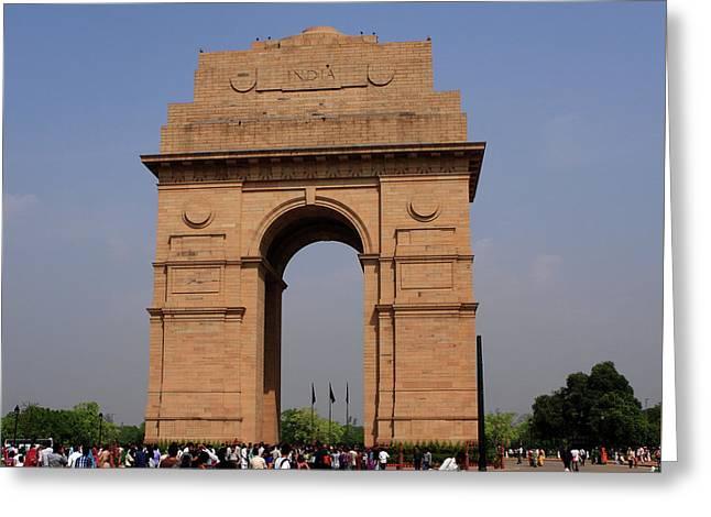 India Gate - New Delhi - India Greeting Card