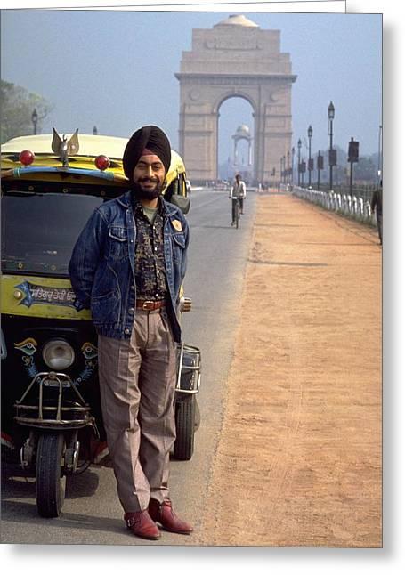 India Gate Greeting Card
