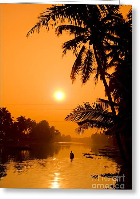 India Kerala  Greeting Card